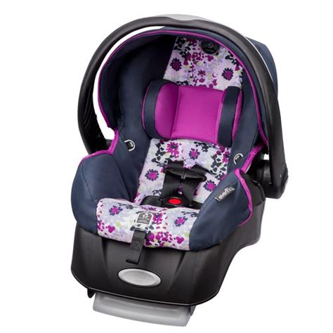 purple car seats for infants evenflo advanced embrace dlx infant car seat with