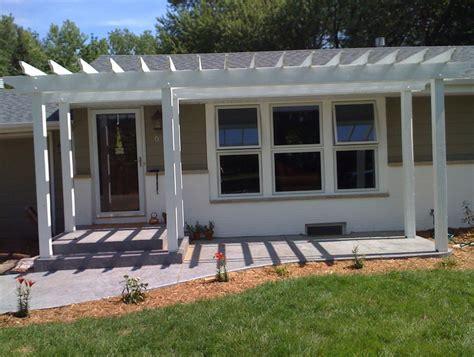 pergola front porch front porch pergola designs home design ideas