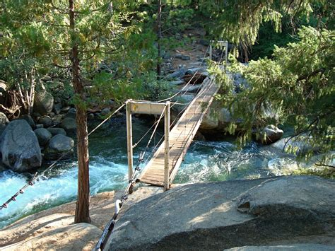 swinging bridge yosemite wawona swinging bridge yosemite park blog