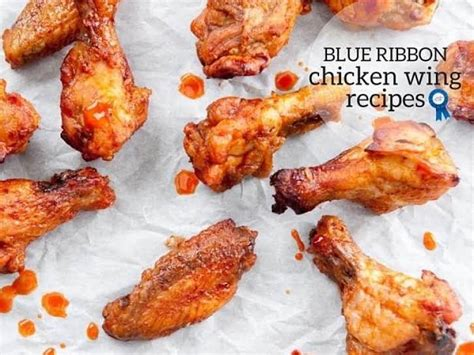 blue ribbon recipes chicken wing recipes just a pinch
