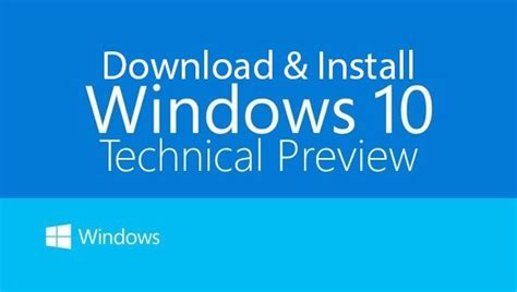 announcing the first build of windows 10 technical preview how to clean install windows 10 technical preview build