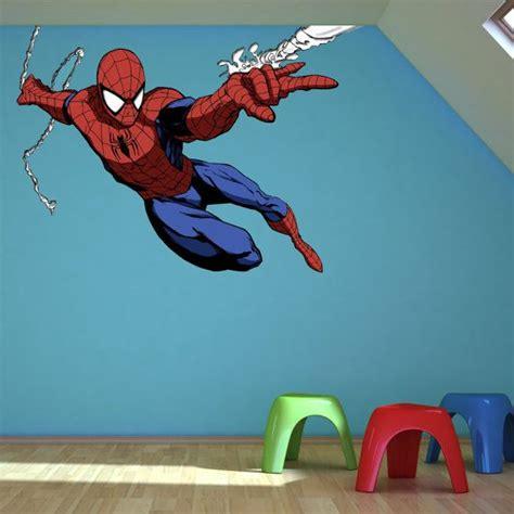 Wall Sticker Spiiderman 3 colour wall sticker decal mural transfer