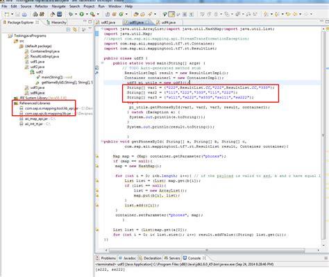 sap nwds tutorial pdf sap pi reference debuggin java udf with nwds