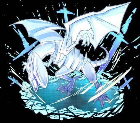 blue eyes white dragon anime www imgkid com the image
