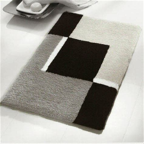 black and gray bathroom rugs contemporary black and white bath rugs vita futura