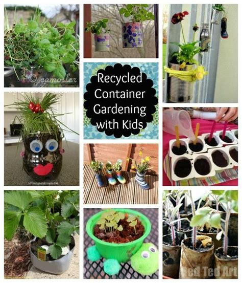 Recycled Container Gardening Ideas Recycled Container Gardening With Gardens Container Gardening And Planters