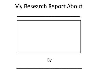 research report template grade 4 49 best book reports images on book projects
