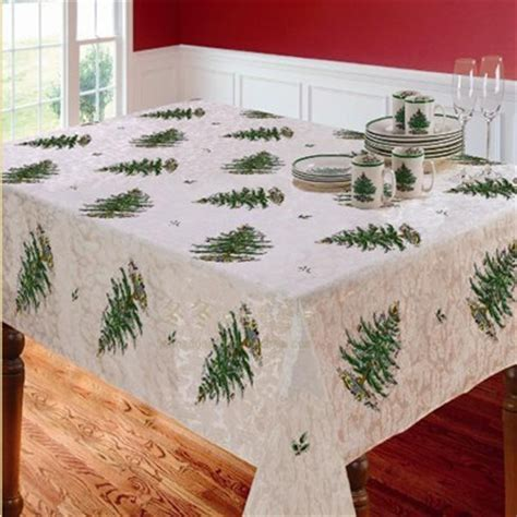 spode christmas tree tablecloth europe and american