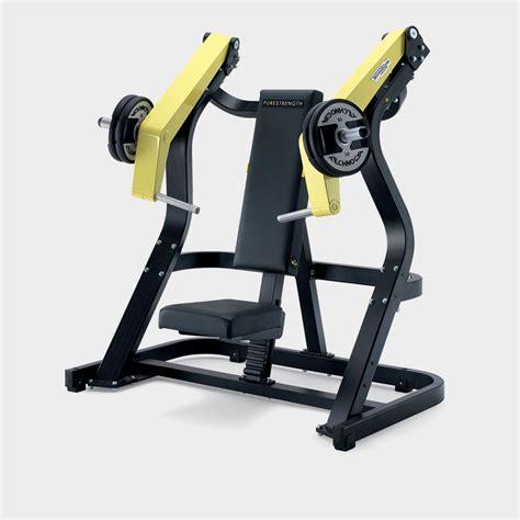 incline bench chest press pure strength incline chest press machine technogym