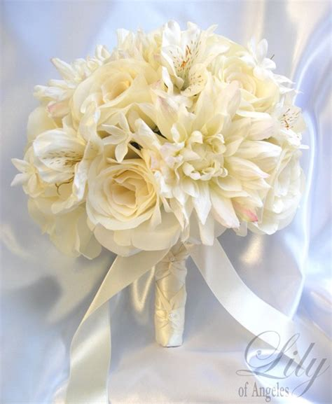 17 pieces package silk flower wedding decoration by