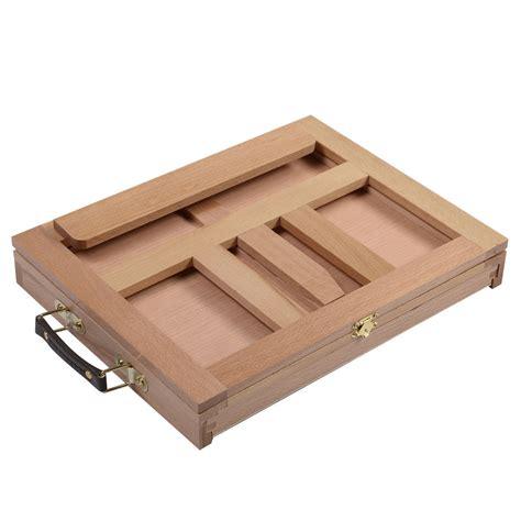 desk easel folding portable artist desk easel wood multi