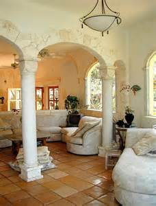 Mediterranean Style Homes Interior by Mediterranean Home Decorating Furnish Burnish