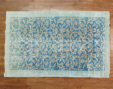 Turquoise Rugs For Sale by Vintage Turkish Turquoise Rug For Sale At 1stdibs