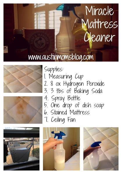 Is There A Way To Clean A Mattress by Diy Miracle Mattress Stain Remover