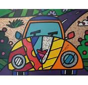 Obras De Romero Britto Para Colorir Pictures To Pin On Pinterest