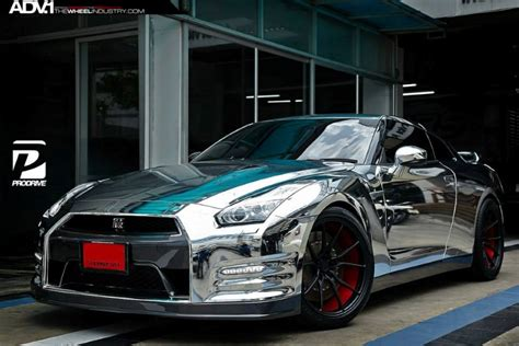 nissan gtr wrapped chrome wrapped nissan gt r by prodrive dpccars