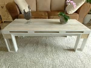 table basse en bois de palette meubles et rangements par