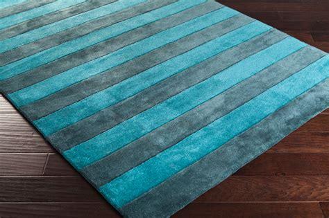 teal striped rug cosmopolitan striped rug in teal by surya rosenberryrooms