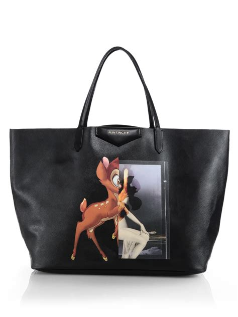 Givency Togo Bag 1 lyst givenchy medium leather shopper tote in black