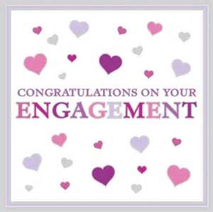 hearts flittered foiled congratulations on your engagement 163 2 50 a great selection of