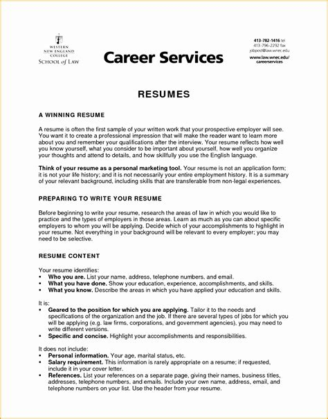 4 writing resume objective summary free sles