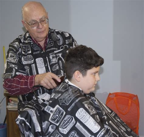 haircuts downtown lincoln fort kent barber flipped coin 50 years ago it s been