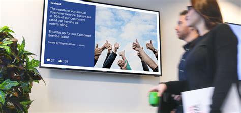 digital signage tv launching   house tv brand