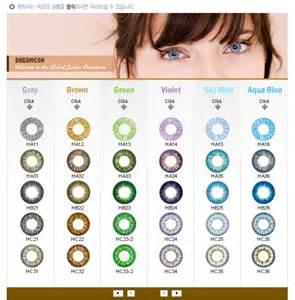 contact lens colors contact lenses colors pictures