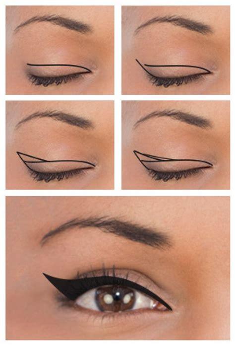 tutorial eyeliner mata kucing tutorial eyeliner cat eye yang sesuai dengan bentuk matamu