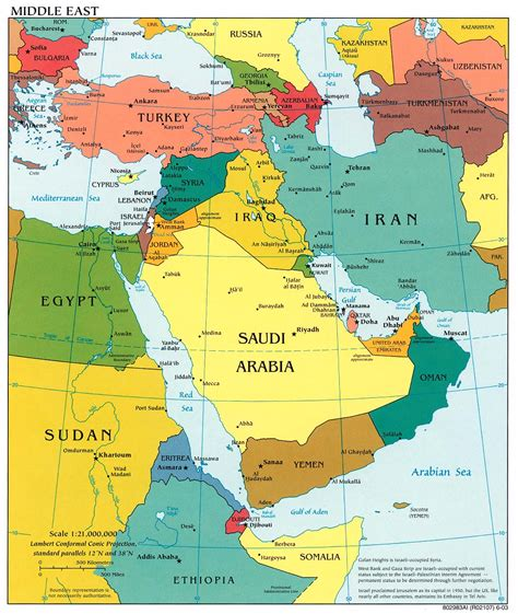 mideast region map free middle east region maps