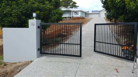 swing gates terranora automatic swing gate installation study