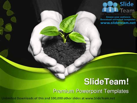 save powerpoint template as theme save plant nature powerpoint templates themes and