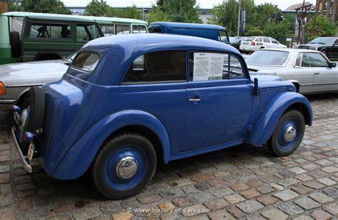Opel History by Opel 1938 Kadett 2door Sedan The History Of Cars