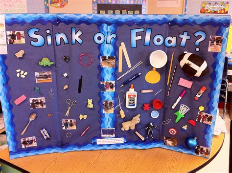 sink or float science fair project in grade science fair project