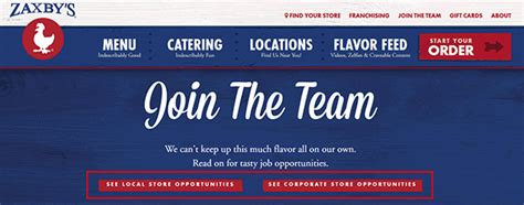 zaxbys job application zaxbys interview questions and