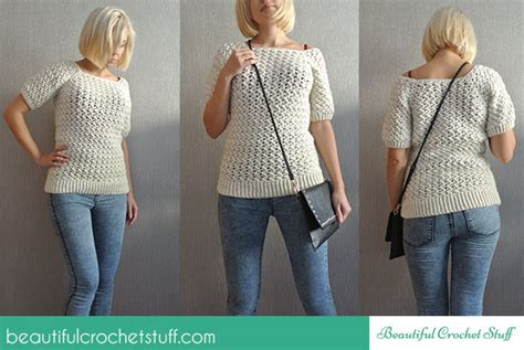 Jaket Hodie Raglan Grab reader tutorial white crochet sweater and sew we craft