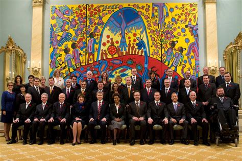 cabinet of canada at rideau hon raitt