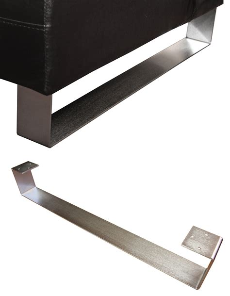 contemporary sofa legs modern sleigh legs metal sofa ottoman legs socal metal fabricating