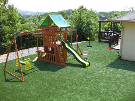 Backyard Playground Surface by Playground Surfaces Sti Of San Antonio