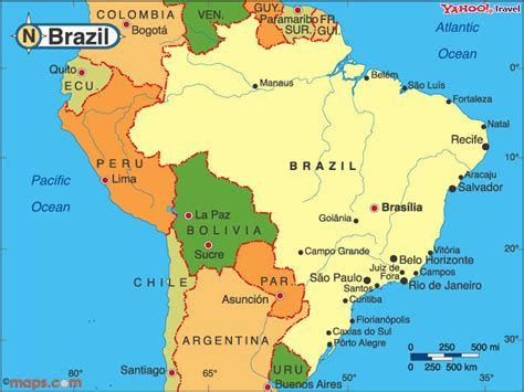 brazil south america map analysis by area ridgway research