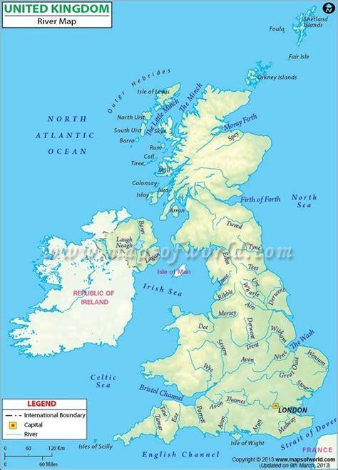 river thames map ks2 oceans around england 3