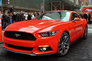 Ford Mustang News Photo Gallery 2015 Ford Mustang Debuts In New York City