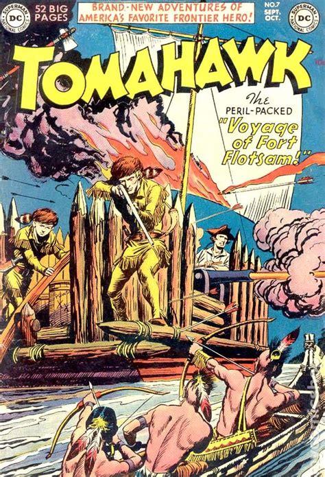 tomahawk for cing comic books september 1951