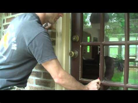 Replace Glass Pane In Door Learn How To Fix Cars And More