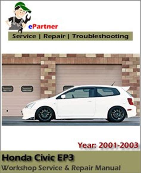 Honda Civic Ep3 Service Repair Manual 2001 2003
