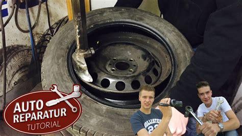 Youtube Motorradreifen Wechseln by Reifen Aufziehen Abziehen Erneuern Montieren Demontieren
