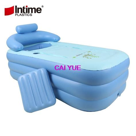 portable plastic bathtub for adults 2017 dhl adult spa pvc folding portable plastic bath tub