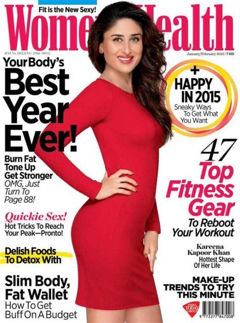 kareena kapoor khan   cover  womens health jan