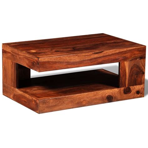Solid Coffee Table Sheesham Solid Wood Coffee Table Vidaxl