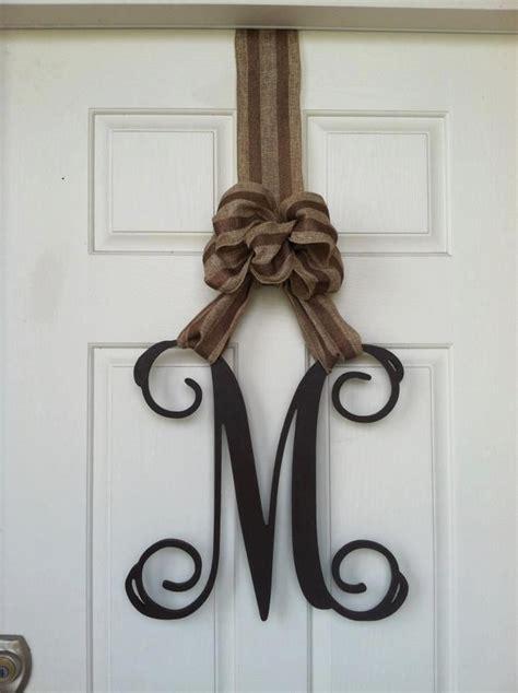 Wooden Letters For Front Door 17 Best Ideas About Wooden Monogram Letters On Monogram Door Hangers Monogram Door
